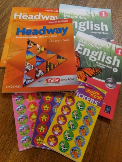 New Headway & Macmillan English