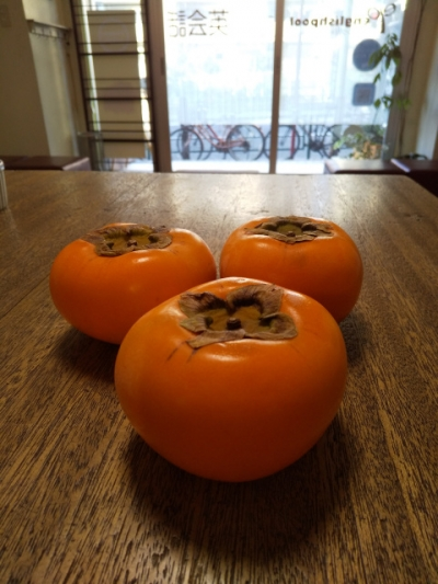 Thank you for the persimmons
